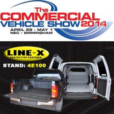 line-x at CV show