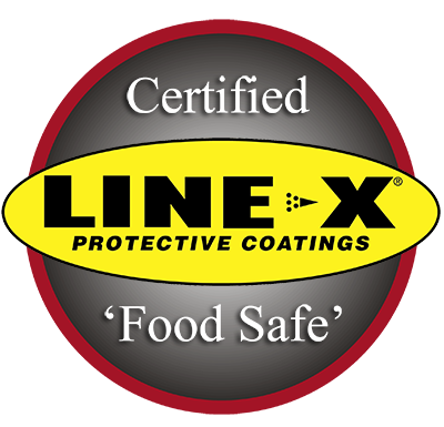 LINE-X Food Safe Coatings
