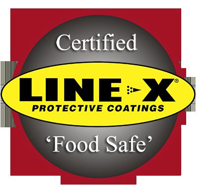 LINE-X Food Safe Coatings