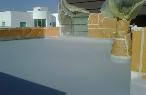 Industrial Coatings LINE-X Roof Lining