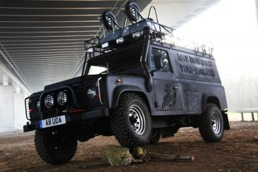 LINE-X Land Rover
