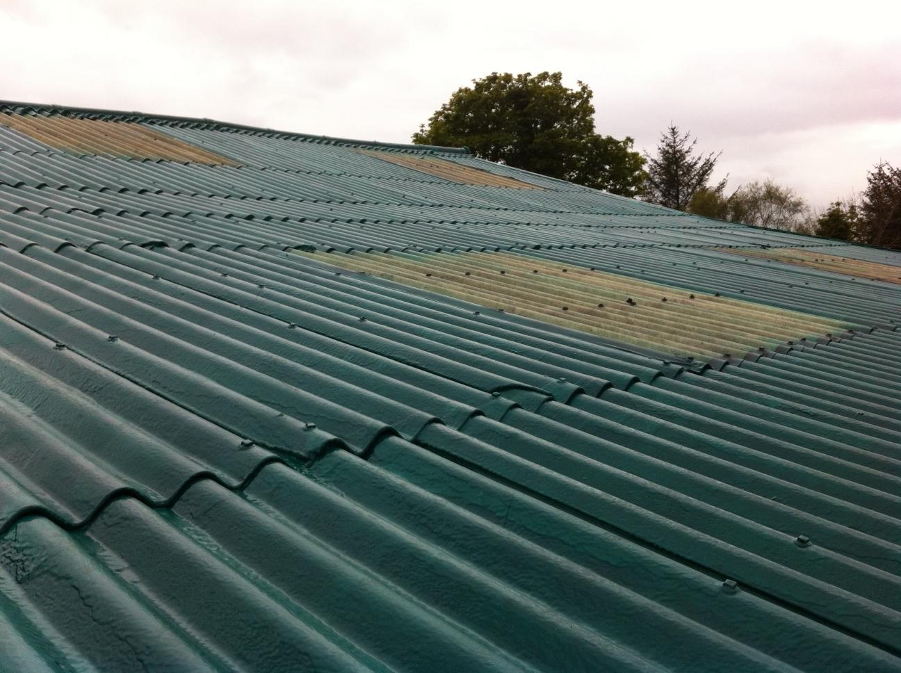 asbestos encapsulation with LINE-X Industrial Coatings