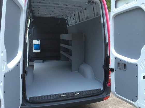 Professionally Applied Spray On Van Lining Line X Uk