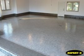 ASPART-X garage floor