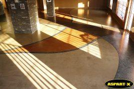 ASPART-X polyaspartic floor