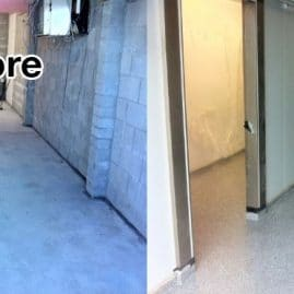 ASPART-X polyaspartic floor before and after