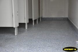 ASPART-X toilet shower room floor