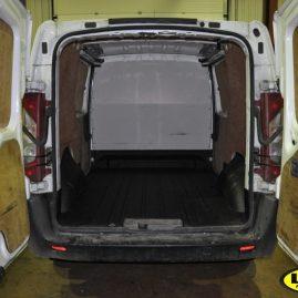 Citroen van with LINE-X van liner