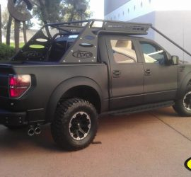 Ford Raptor with LINE-X body
