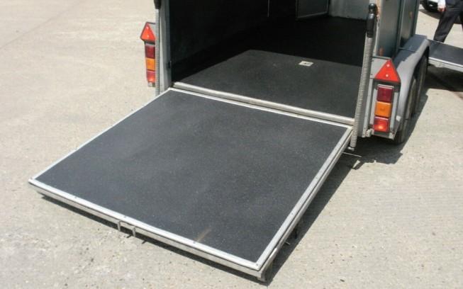Horse Box with LINE-X Floor