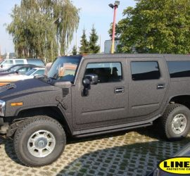 Hummer full LINE-X encapsulation