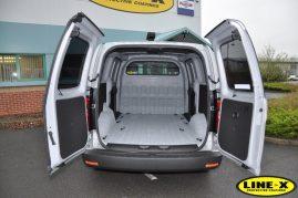 Hyundai iload with LINE-X van liner
