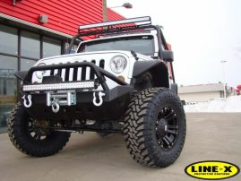 Jeep with LINE-X Accessories