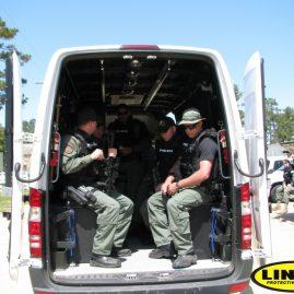 LC SWAT Van with LINE-X interior