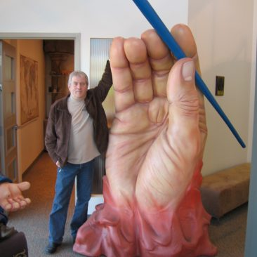 LINE-X Large Hand Prop
