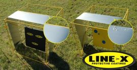 LINE-X Spall Liner Plates