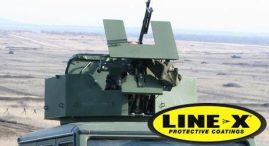 LINE-X Spall Liner - Turret