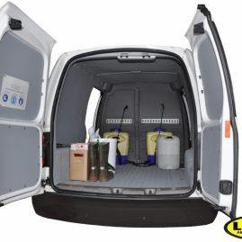 LINE-X Van liner - resistant against most common chemicals