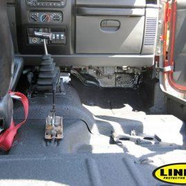 LINE-X interior 4x4