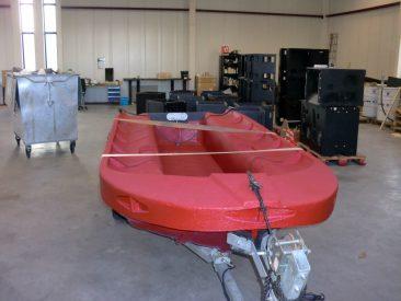LINE-X Boat