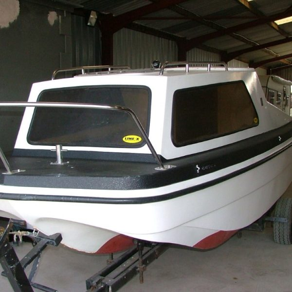 LINE-X Boat