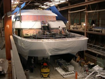LINE-X Boat Deck