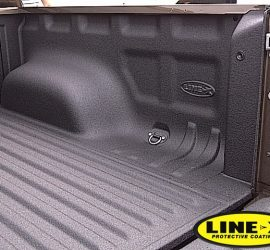 VW Amarok with LINE-X Under the Rail Bed liner