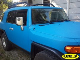 toyota Land Cruiser - LINE-X body