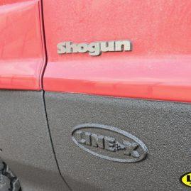 Mitsubishi Shogan LINE-X protection