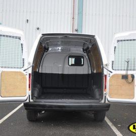 Peugeot with LINE-X van liner