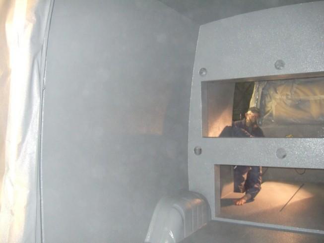 Police Dog Van with LINE-X Van Lining