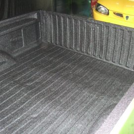 VW Caddy Pickup after LINE-X application 2