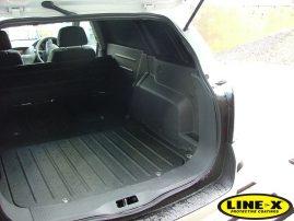 Vauxhall Astra van with LINE-X Load Liner