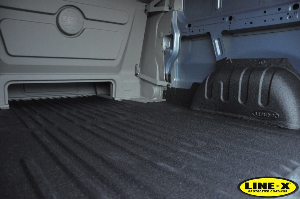 Vauxhall Vivaro CDTI with LINE-X Floor