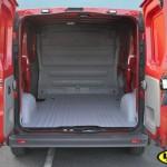Vauxhall Vivaro fire services van - LINE-X load liner