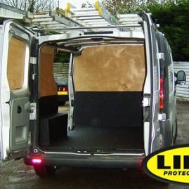 Window cleaning van with LINE-X waterproof seal 2