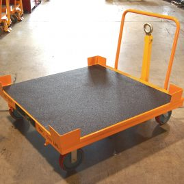 bulk trolleys with LINE-X