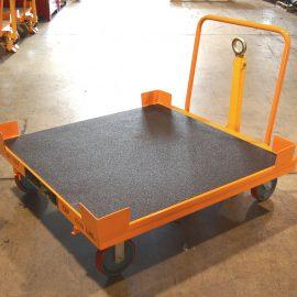 bulk trolleys with LINE-X