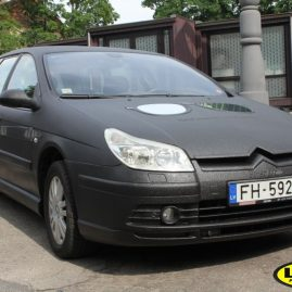 Citroen fully coated with LINE-X