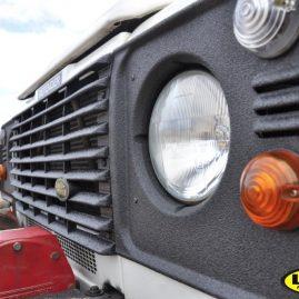 Land Rover Defender light surrounds LINE-X