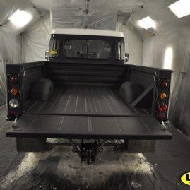 Land Rover Defender LINE-X load liner