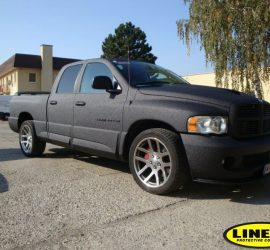 dodge full encapsulation with LINE-X