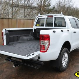 Ford Ranger with LINE_X UNder the Rail