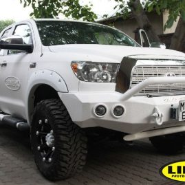 fully encapsulated LINE-X Truck