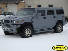 Hummer 2 with LINE-X body