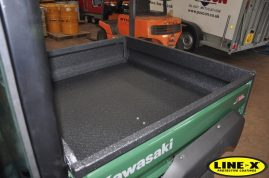 kawasaki mule LINE-X load bed liner