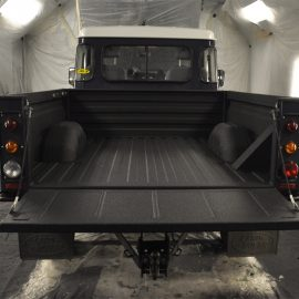 land rover line-x load area
