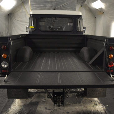 Land Rover Load Area