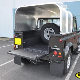 Land Rover; LINE-X with hard top