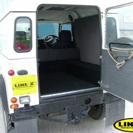 Land Rover Defender LINE-X load liner